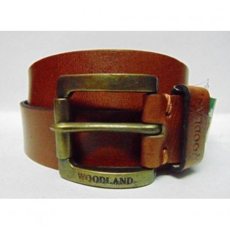 Woodland 32 cm Men Belt Brown